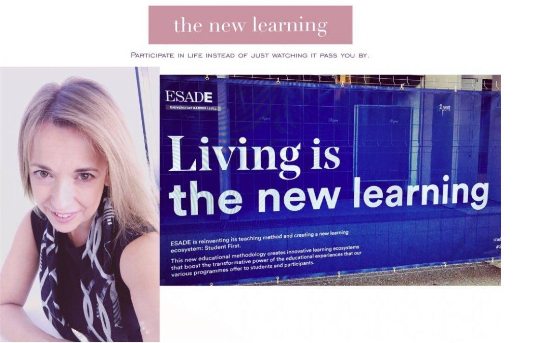 Living is the new learning