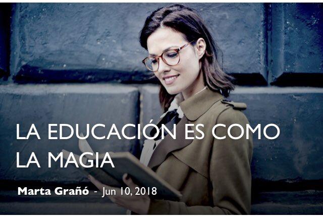 La educación es como la magia