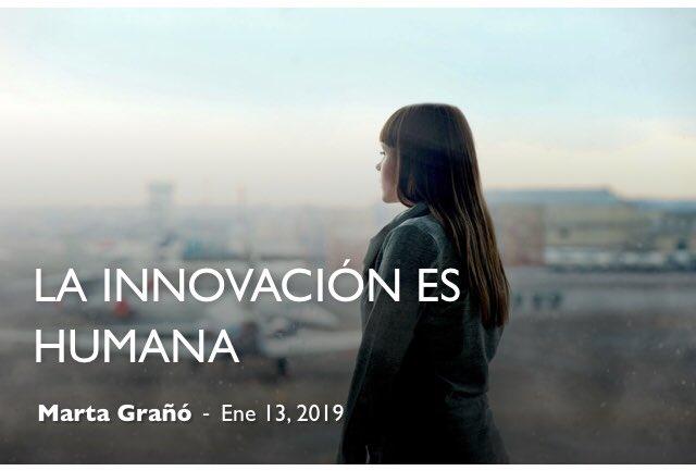 La innovación es humana