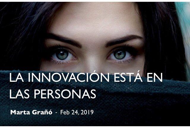 La innovación está en las personas