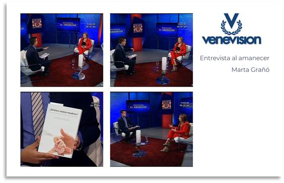 entrevista venevisión marta graño