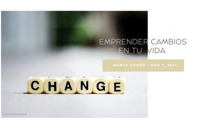Emprender cambios en tu vida